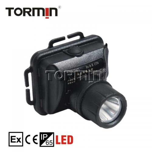 "LED Explosion Proof Mini Head Lamp ""Tormin"" Model BW6310A"